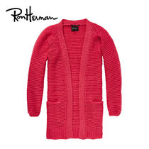 Ron Herman Cable Knit Casual Style Wool Long Sleeves Plain Medium