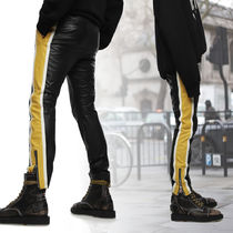 DIESEL Stripes Street Style Skinny Fit Pants