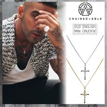 Chained & Able Unisex Street Style Silver Necklaces & Chokers