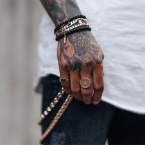 Chained & Able Unisex Street Style Rings