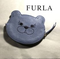FURLA Leather Coin Purses