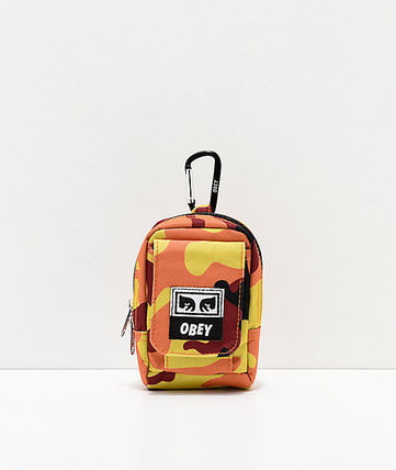 Camouflage Street Style Bags