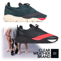 CLEAR WEATHER BRAND Suede Plain Sneakers