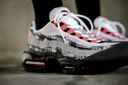 "Nike Sneakers x Atmos AIR MAX 95 PRINT ""WE LOVE NIKE"" AQ0925-002"