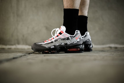 "Nike Sneakers x Atmos AIR MAX 95 PRINT ""WE LOVE NIKE"" AQ0925-002 2"