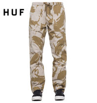 HUF Printed Pants Camouflage Street Style Patterned Pants