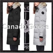 CANADA GOOSE SHELBURNE Casual Style Fur Medium Down Jackets