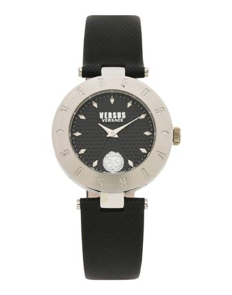 Leather Round Office Style Analog Watches