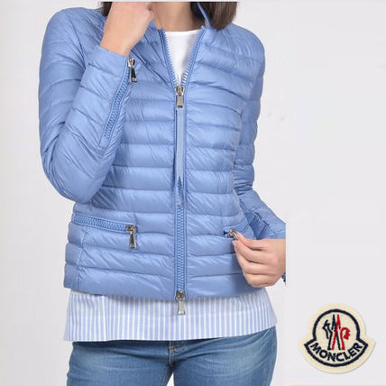 ... MONCLER Down Jackets Short Casual Style Street Style Plain Down Jackets ...