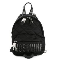 Moschino 2WAY Elegant Style Backpacks