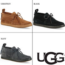 UGG Australia Moccasin Casual Style Suede Plain Shoes