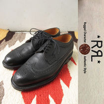 RRL Wing Tip Leather Oxfords