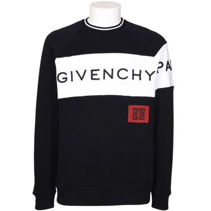 GIVENCHY Sweatshirts Crew Neck Long Sleeves Cotton Sweatshirts 5