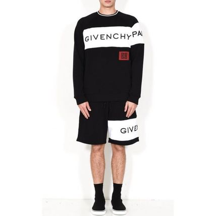 GIVENCHY Sweatshirts Crew Neck Long Sleeves Cotton Sweatshirts 3