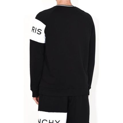 GIVENCHY Sweatshirts Crew Neck Long Sleeves Cotton Sweatshirts 4