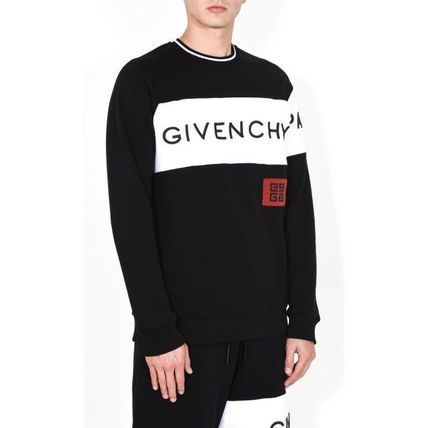 GIVENCHY Sweatshirts Crew Neck Long Sleeves Cotton Sweatshirts 7