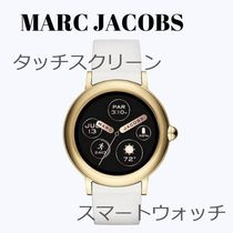 MARC JACOBS Unisex Silicon Round Digital Watches