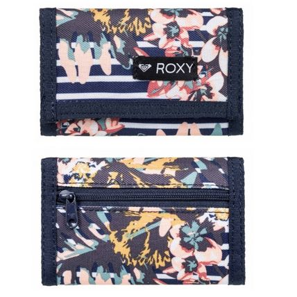 Stripes Flower Patterns Street Style Folding Wallets