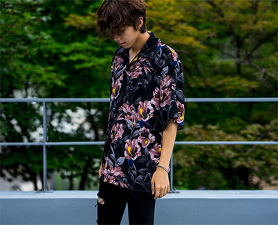 Shirts Tropical Patterns Unisex Street Style Short Sleeves 7