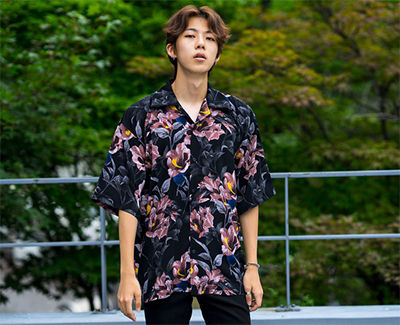 Shirts Tropical Patterns Unisex Street Style Short Sleeves 8