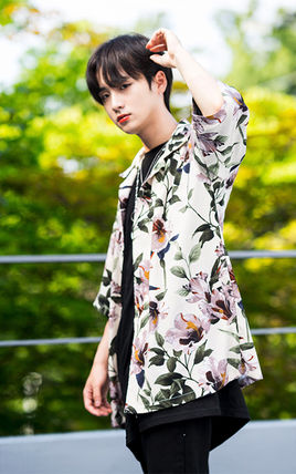 Shirts Tropical Patterns Unisex Street Style Short Sleeves 15