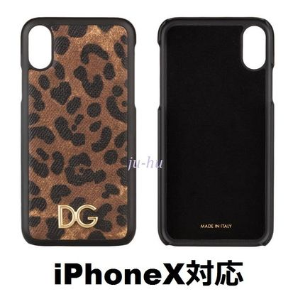 Leopard Patterns Leather Smart Phone Cases