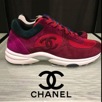 112fb04c6f4 CHANEL SPORTS 2018-19AW Suede Plain Low-Top Sneakers by AustraliaNature -  BUYMA