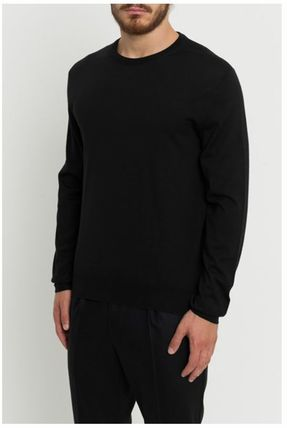 DIOR HOMME Knits & Sweaters Crew Neck Wool Street Style Long Sleeves Plain 2
