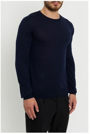 DIOR HOMME Knits & Sweaters Crew Neck Wool Street Style Long Sleeves Plain 6