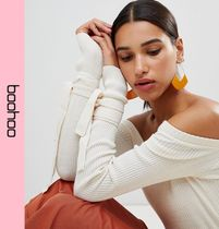boohoo Casual Style Bandeau & Off the Shoulder