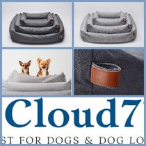 Cloud7 Dog Bed Sleepy Deluxe Tweed Grey/Taupe S size