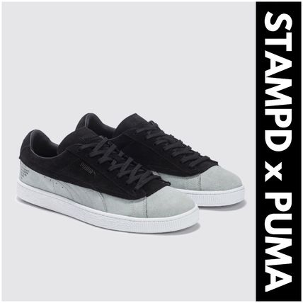 Suede Street Style Collaboration Sneakers