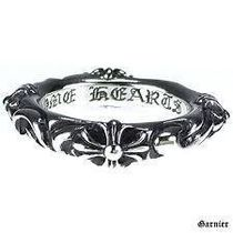 CHROME HEARTS Unisex Street Style Silver Rings