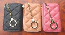 CHANEL MATELASSE Leather Keychains & Bag Charms