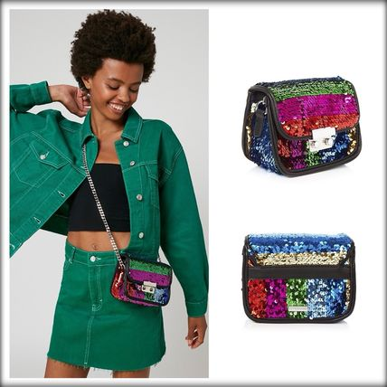 Chain Party Style Shoulder Bags