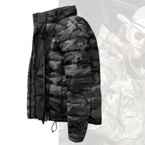 CANADA GOOSE Short Camouflage Down Jackets