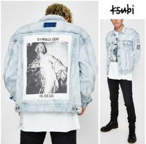 KSUBI Denim Plain Denim Jackets Jackets