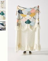 Anthropologie Fringes Throws