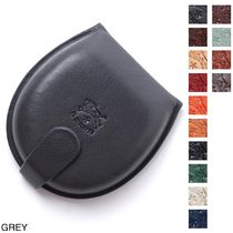 IL BISONTE Leather Coin Cases
