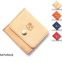 IL BISONTE Leather Coin Purses