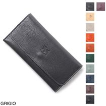 IL BISONTE Leather Long Wallets