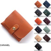 IL BISONTE Leather Card Holders