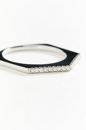 Party Style Silver Rings