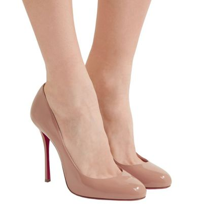 df496c7b52b ... Christian Louboutin Stiletto Round Toe Pin Heels Stiletto Pumps   Mules  ...