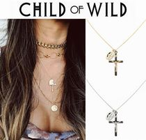 Child of Wild Cross Silver 18K Gold Necklaces & Pendants
