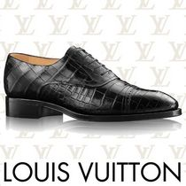 Louis Vuitton Straight Tip Loafers Plain Leather Loafers & Slip-ons