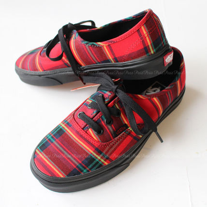 878aca2bee VANS AUTHENTIC Tartan Unisex Low-Top Sneakers by petit 2petit 2 - BUYMA