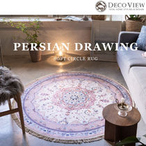 DECO VIEW Tassel Collaboration Carpets & Rugs