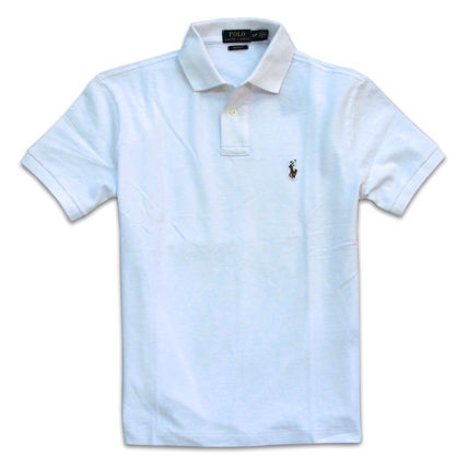 Ralph Lauren Polos Pullovers Plain Cotton Short Sleeves Polos 4