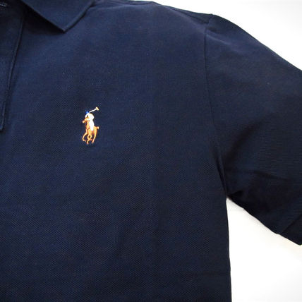 Ralph Lauren Polos Pullovers Plain Cotton Short Sleeves Polos 9